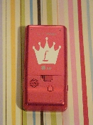 PRINCESS CELL PHONE MONOGRAM