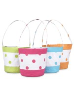 MONOGRAMMED FUN BUCKET TOTE
