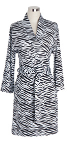 Zebra Bathrobe