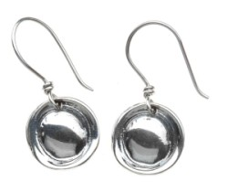 ROUND SOLID EARRINGS