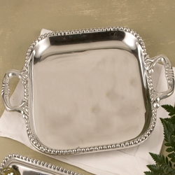 Beatriz Ball Pearl Square. Platter -Large