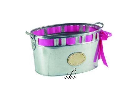 RIBBON ICE BUCKET OR PLANTER