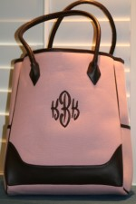 MONOGRAMMED NEW YORK TOTE