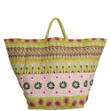 Carry All Printed Canvas Tote