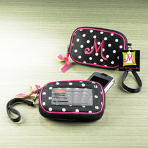 Monogrammed Wallet ID Pouch