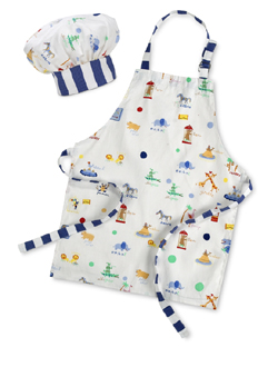 MONOGRAMMED APRON & CHEF HAT