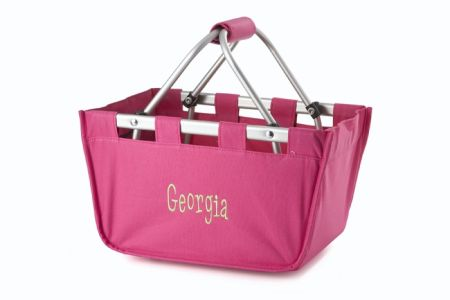 Hot Pink Mini Market Tote