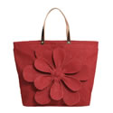 Sand Small Jute Flower Tote