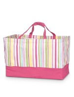 MONOGRAMMED RECTANGLE CRUNCH TOTE