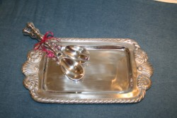 BRAIDED SHELL TRAY